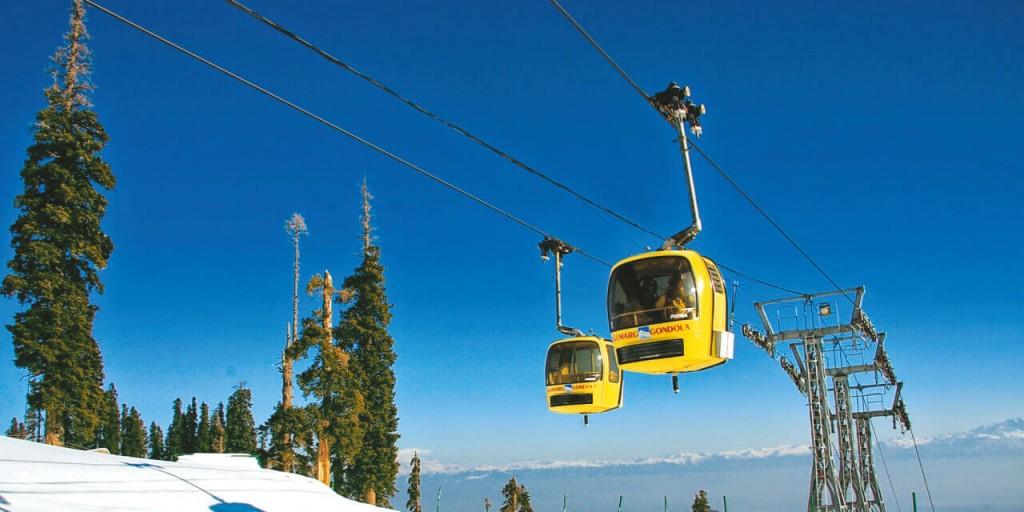 Paronamic Gondola Ride | Kashmir Tour Kesari tours