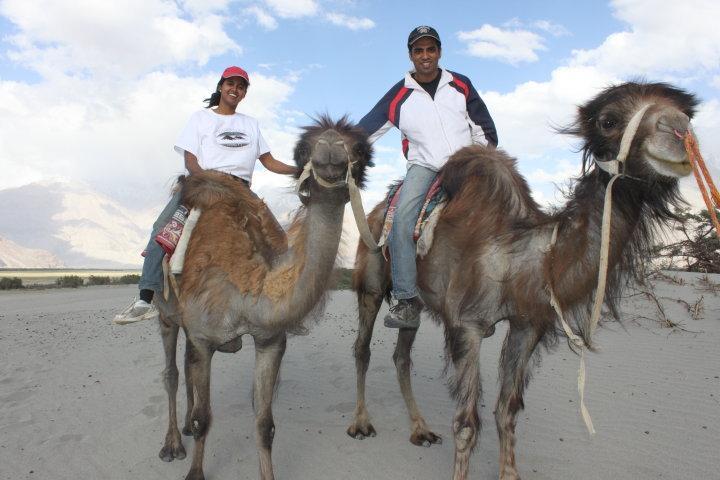 Kesari Tours Camel Caravan
