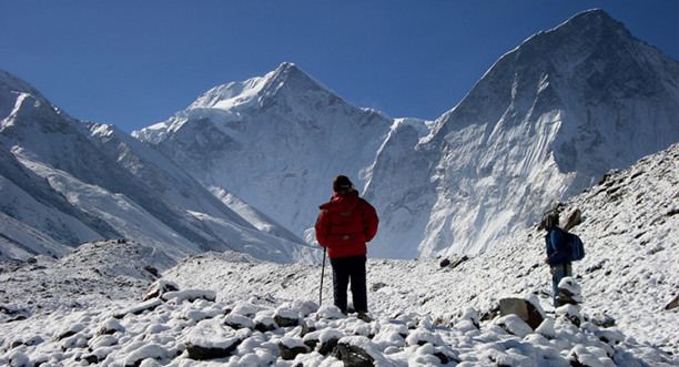 Kesari Tours Trek through Bagini Glacier