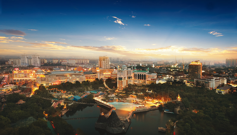 Kesari tours Sunway City Malaysia