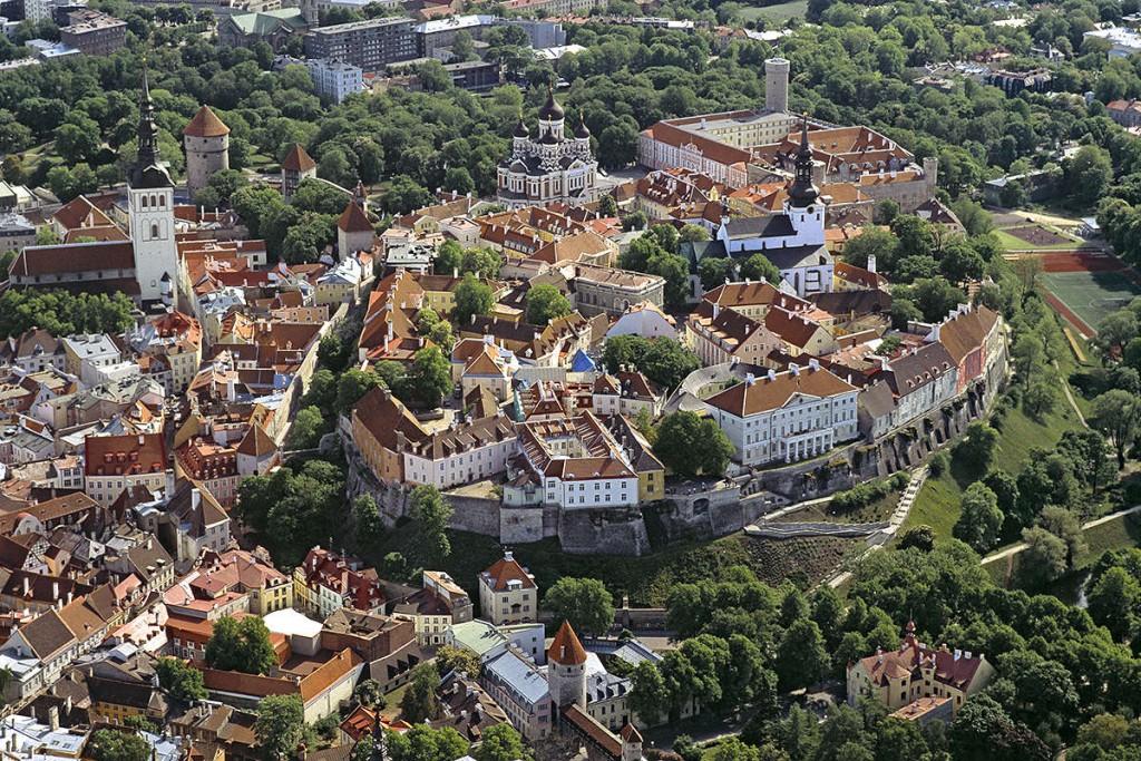 Kesari tours Tallinn's Heart