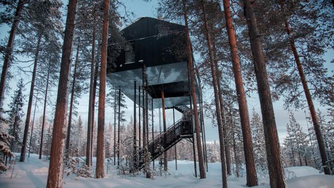 Kesari tours Treehotel, Sweden