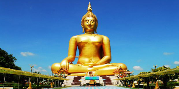 kesari tours World's largest Golden Buddha