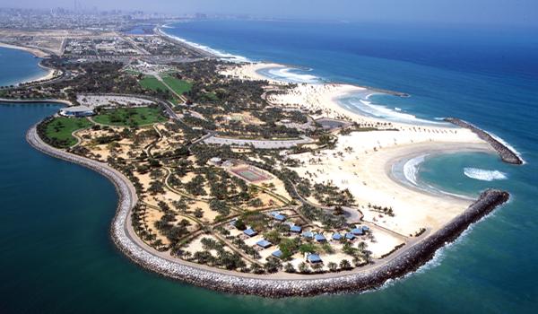 Mamzar Beach Dubai - Kesari Tours