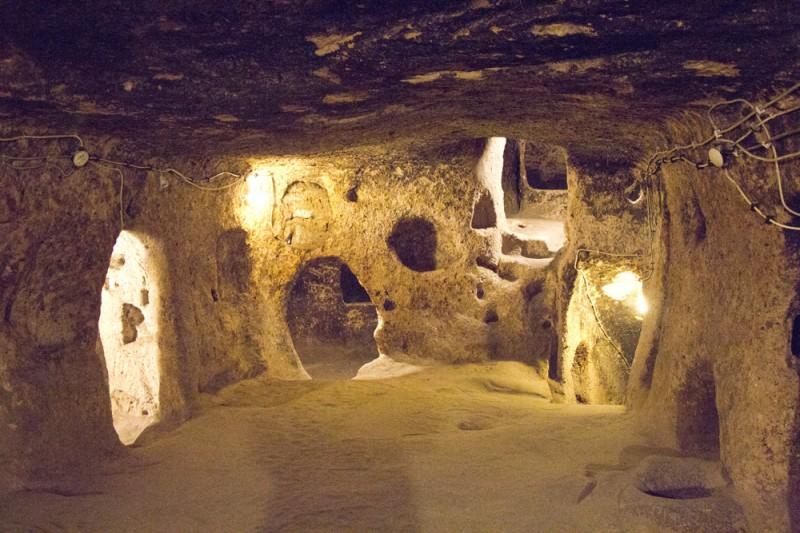 2.underground cities, kesari tours