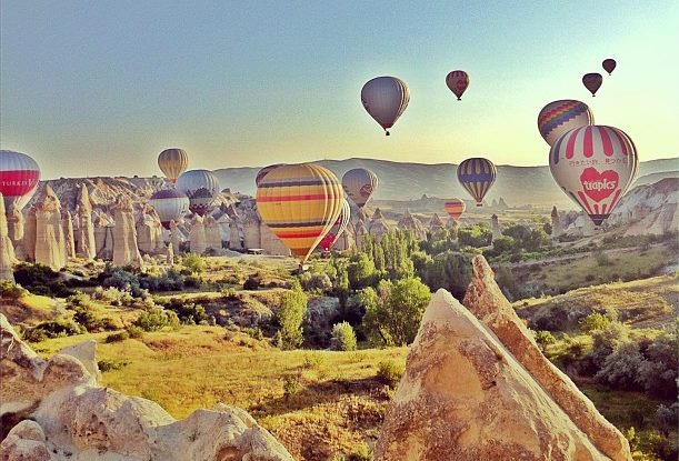 6. hot air ballons, kesari tours