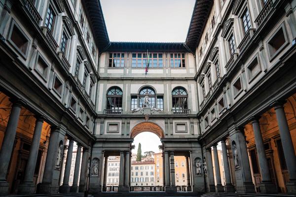 uffizi museum, kesari tours
