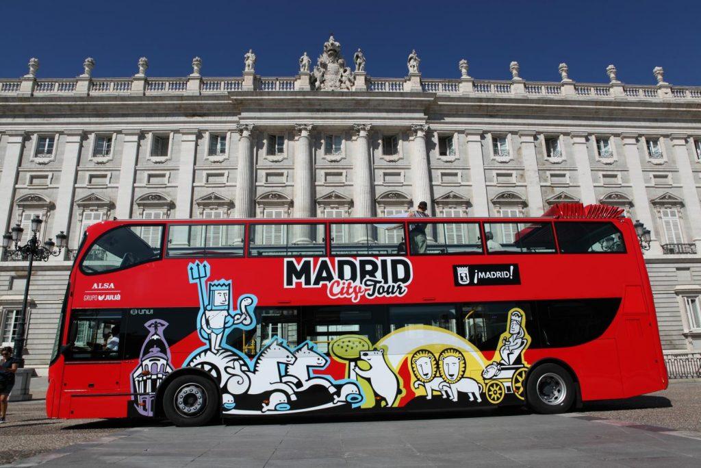 City Bus Tour Madrid