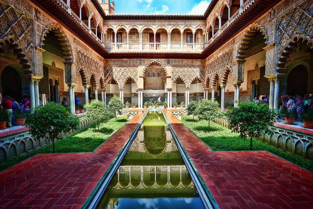 trip to Seville, seville alcazar