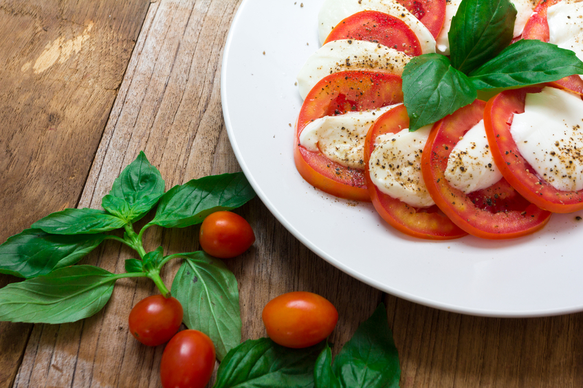 The Caprese Salad - kesari tours