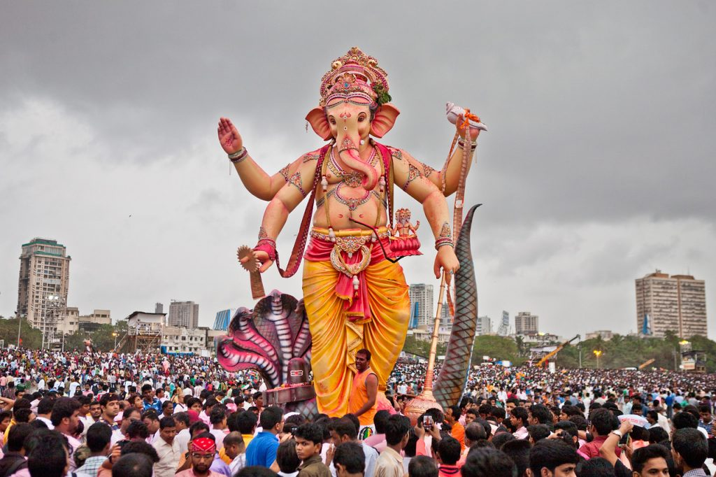 Ananth Chaturdashi in Mumbai