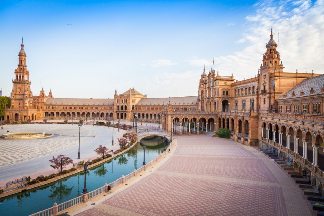 Plaza de Espana, holiday to Seville