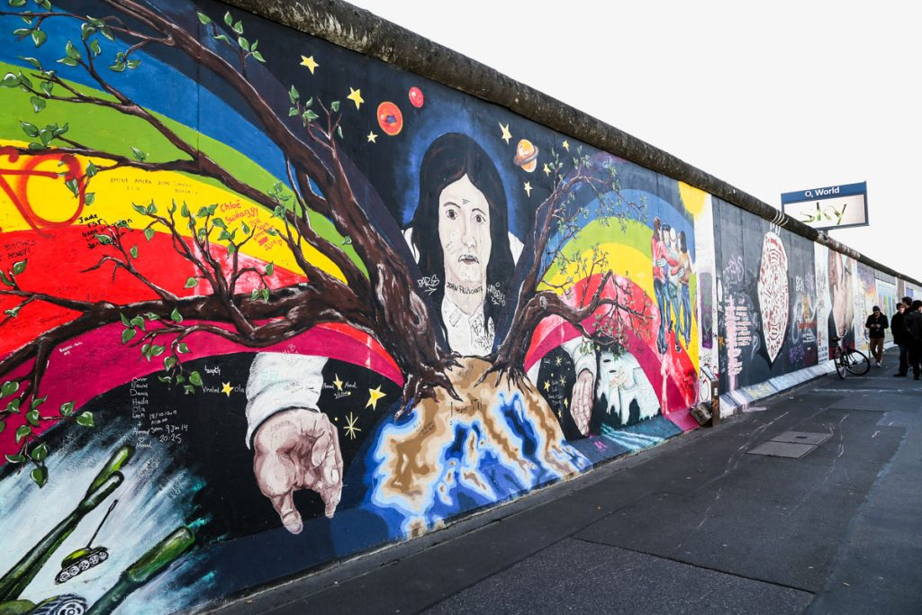 Berlin Wall East Side - Kesari Tours