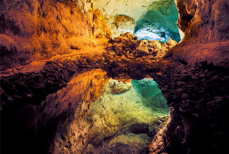 Canary Islands, Cuevade Los Verdes, Spain