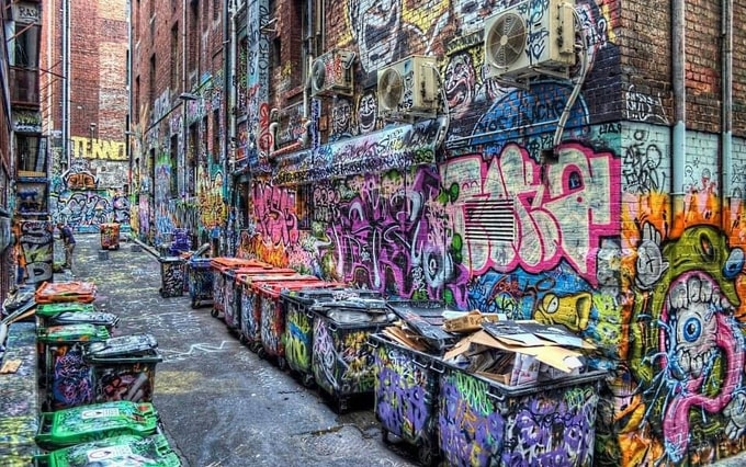 Graffiti Alleys of Melbourne Kesari Tours | things not to miss when in australia