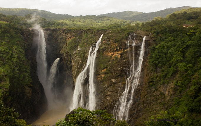 Jog-Falls-kesari-tours | Top 5 Waterfalls in India